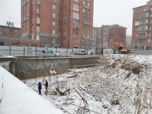 Ермака (Державина) фото со стройки зима 2019