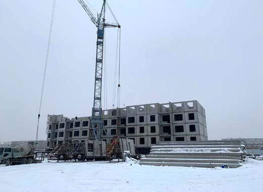 Николая Островского фото со стройки зима 2019