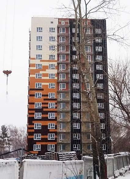Коминтерна, 116, 118 стр фото со стройки зима 2019