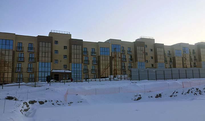 Заслонова, 13 фото со стройки зима 2019
