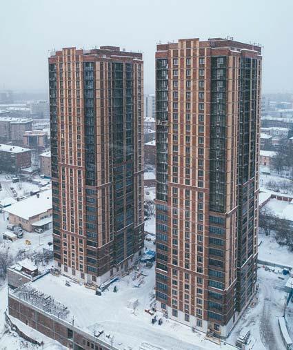 Овражная, 3, 3/1 стр фото со стройки зима 2019