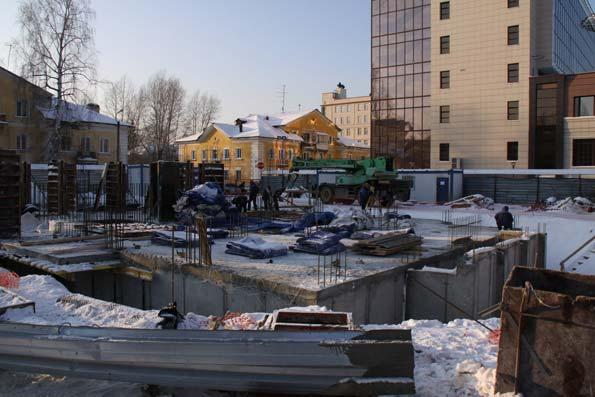 Народная, 59 к1, к2 фото со стройки зима 2019