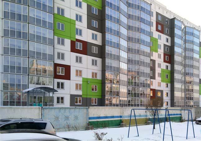Титова, 254 дом 17 фото со стройки зима 2019