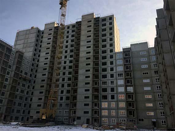 Ленинградская, 322 фото со стройки зима 2019