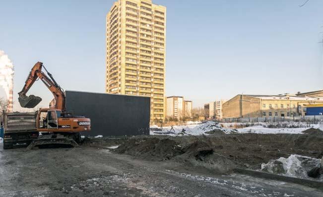 Котовского, 2Б фото со стройки зима 2019