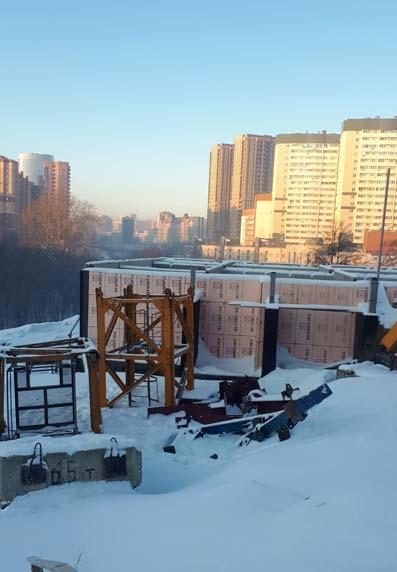Танковая, 1 (17 стр) фото со стройки зима 2019