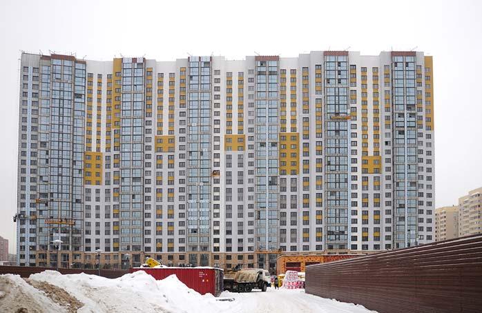 Кошурникова, 25 фото со стройки зима 2019
