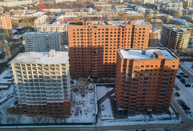 Серафимовича, 20 стр фото со стройки зима 2019