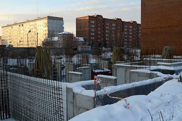 Пролетарская, 271/5 к2 фото со стройки зима 2019