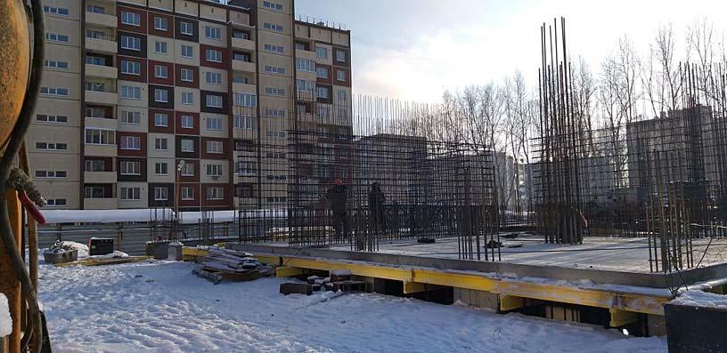 Михаила Немыткина, 9/1 стр фото со стройки зима 2019