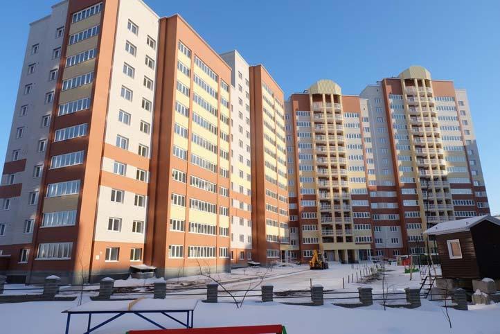 Краснообск, 230, 231 стр фото со стройки зима 2019
