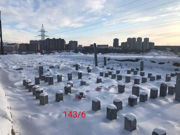 Высоцкого, 141, 142, 143 стр фото со стройки зима 2019