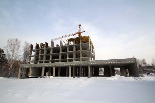 Ошанина, 2-4 (Сокольники, 2, 3, 4 стр) фото со стройки зима 2019
