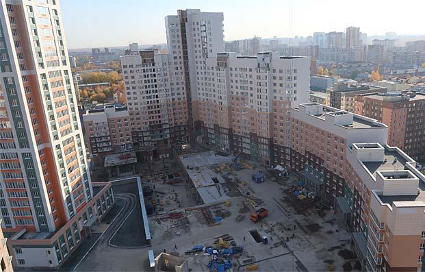 Семьи Шамшиных, 94, 94 к1 (дома 2, 4) фото со стройки зима 2019