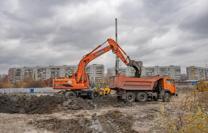 Курчатова, 13 фото со стройки зима 2019