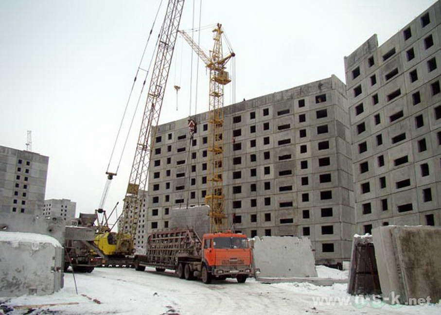 Татьяны Снежиной, 43 (Высоцкого, 33) фото мониторинг строительства