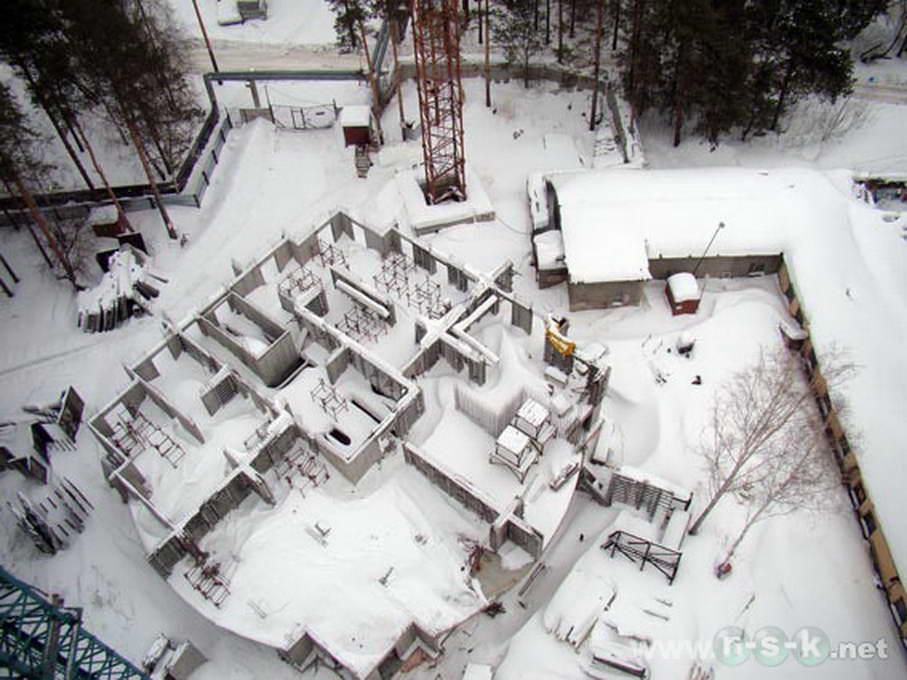 Залесского, 2/3 (2а стр), дом Нельсон фото мониторинг строительства