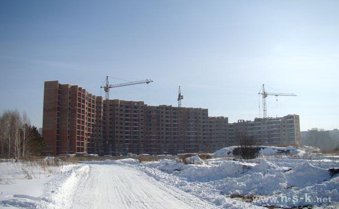 Краснообск, Западная, 233 фото мониторинг строительства