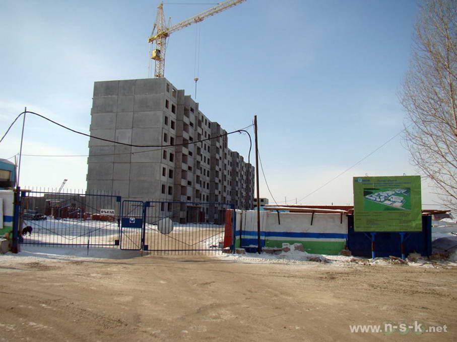 Спортивная, 5 (Титова, 1 стр) фотоотчет строительной площадки