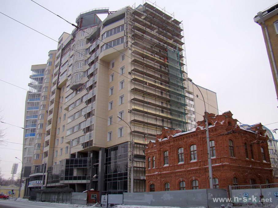 Ядринцевская, 18 фотоотчет строительной площадки
