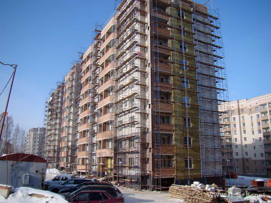 Молодежная, 8 (Никольский проспект, 9 стр) фотоотчет строительной площадки