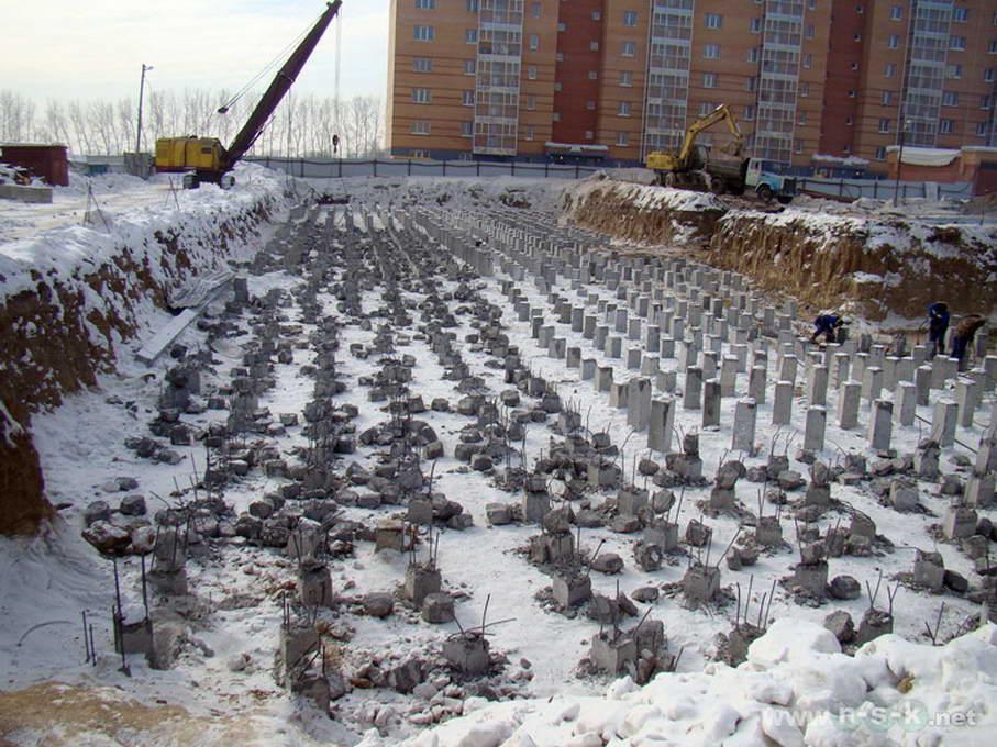 Тюленина, 20 фотоотчет строительной площадки