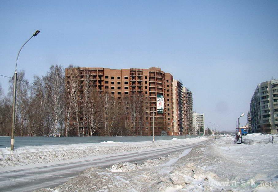 Краснообск, Западная, 233 фотоотчет строительной площадки
