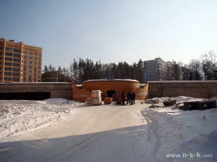 Академика Коптюга проспект, 19 фотоотчет строительной площадки