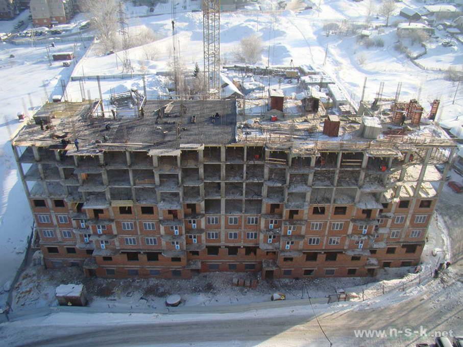 Вилюйская, 11 стр (Вилюйская, 9) фотоотчет строительной площадки
