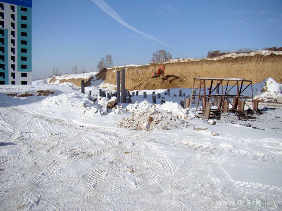 Татьяны Снежиной, 45/2, 45/3 (Высоцкого, 70, 71) фотоотчет строительной площадки