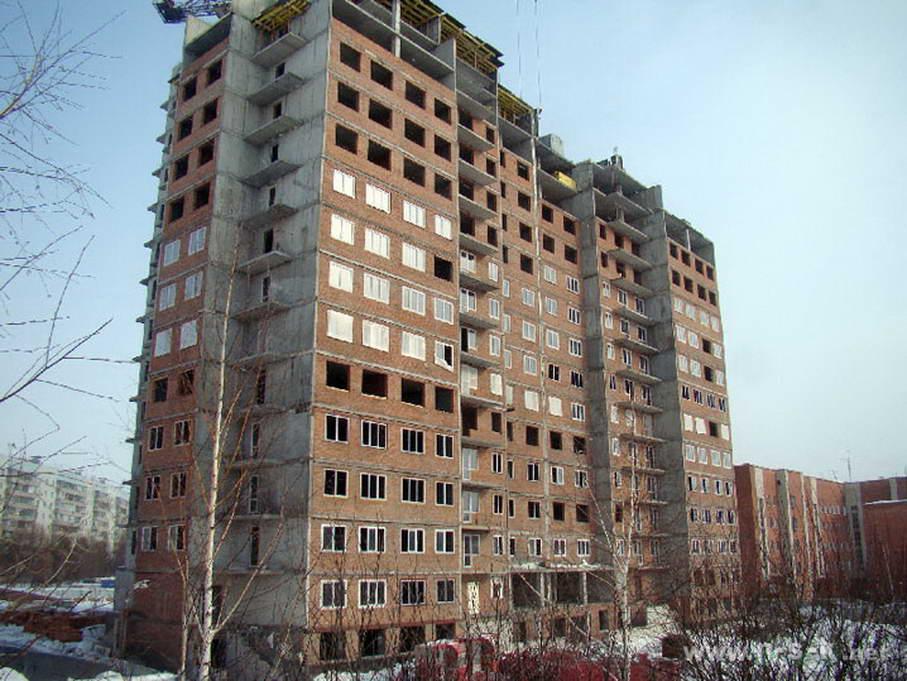 Краснообск, 56 фотоотчет строительной площадки