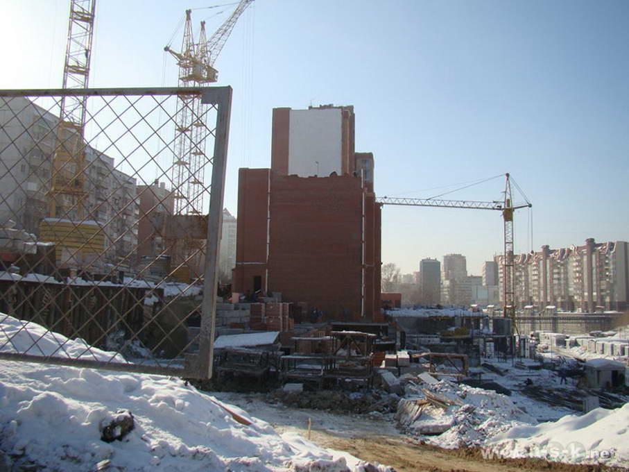 Кавалерийская, 9 фотоотчет строительной площадки