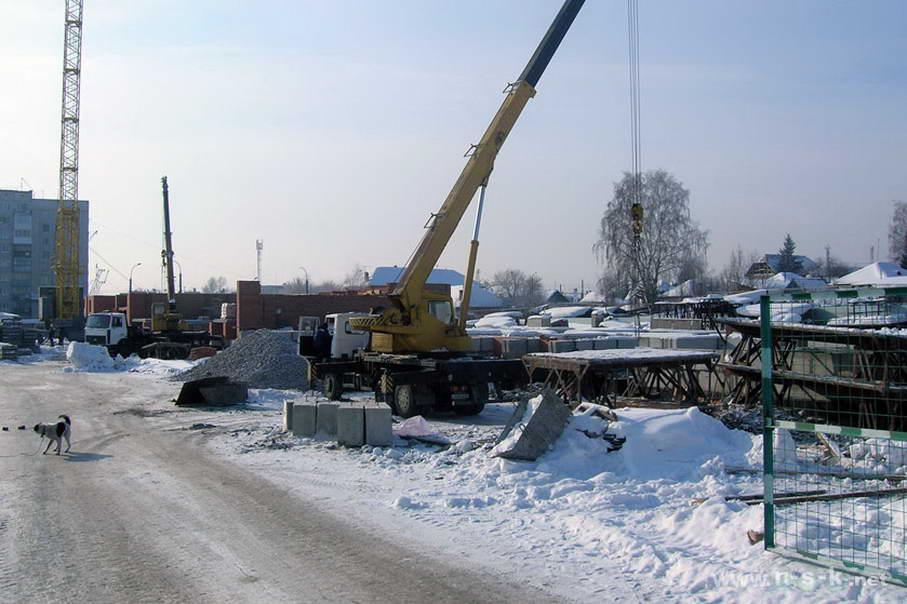 Сержанта Коротаева, 1 (Комсомольская, 18 стр) фотоотчет строительной площадки