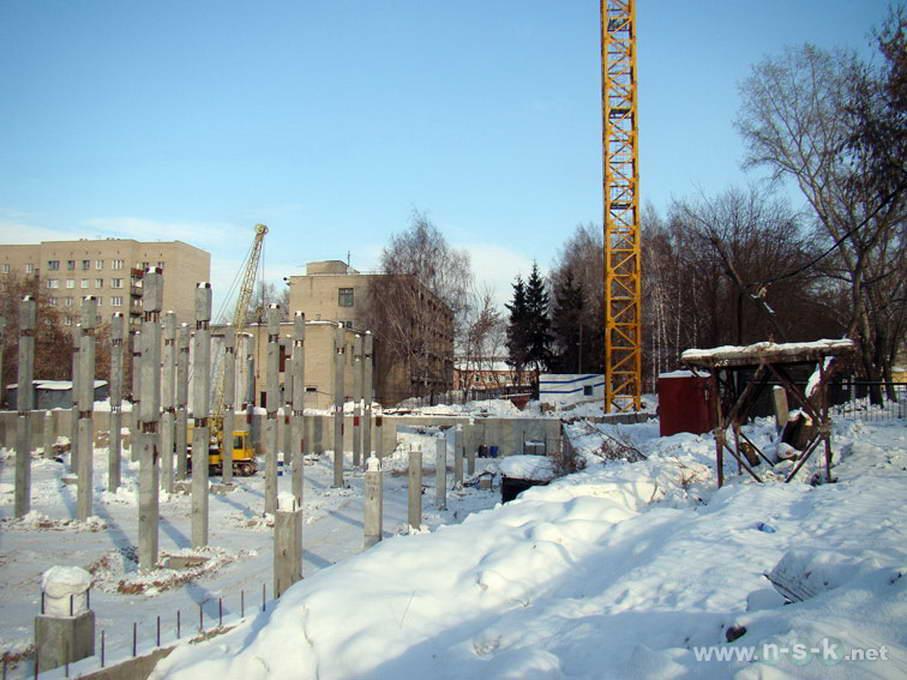Беловежская, 4 (2/1 стр) фотоотчет строительной площадки