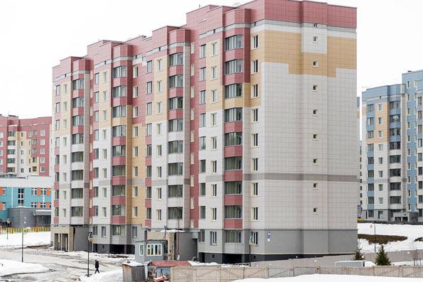 4-й микрорайон, 20 стр (Рассветная, 3а) фото со стройки зима 2020