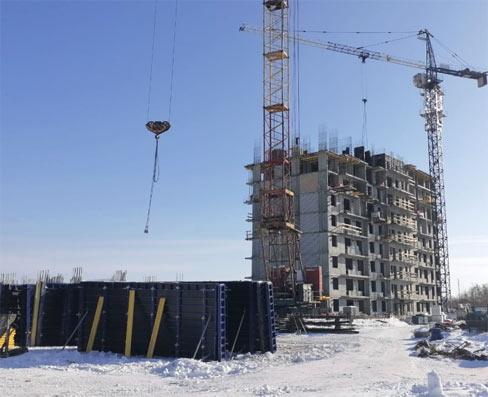 Бородина, 1 стр фото со стройки март 2021