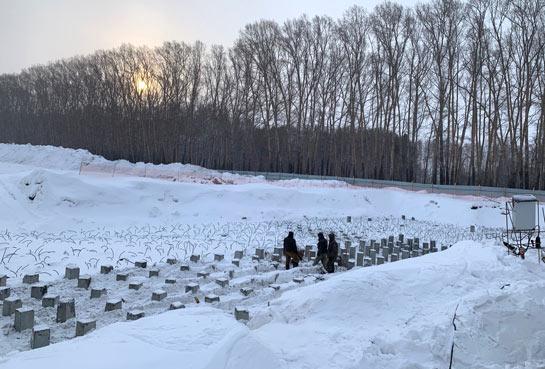 Петухова, 162 стр к6 фото со стройки март 2021