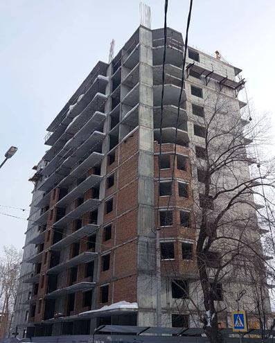 Серафимовича, 21 фото со стройки март 2021