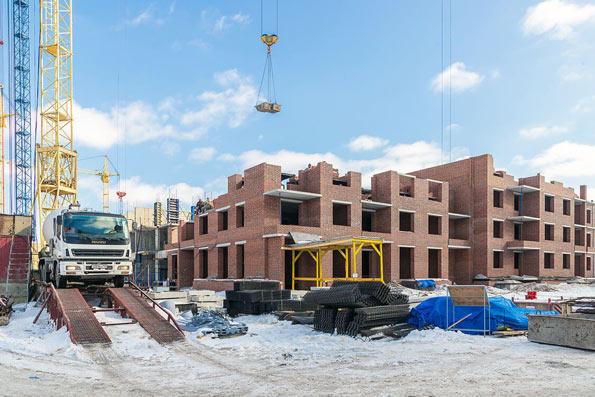 Никольский проспект, 16 фото со стройки март 2021