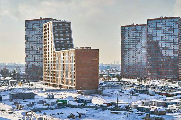 Чулымская 1-я, дом №10  (112/8 стр) фото со стройки март 2021