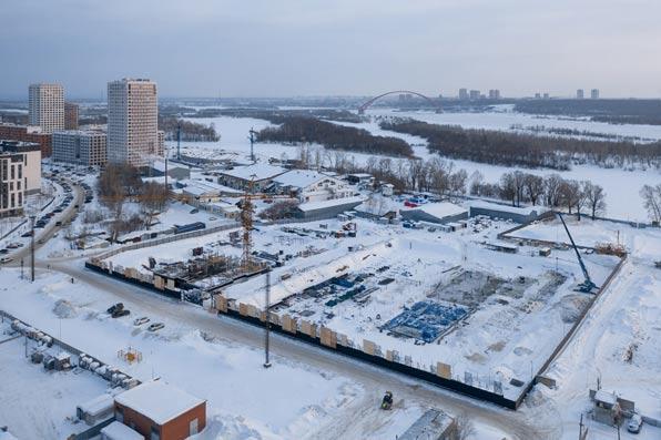 Владимира Заровного, 30, 31 стр фото со стройки март 2021