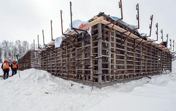 Краснообск, 10 фото со стройки март 2021