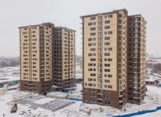 Курчатова, 13 фото со стройки март 2021