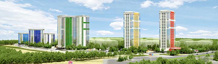 Жилой комплекс по ул.Танковая-Ипподромская, ЗАО Строитель