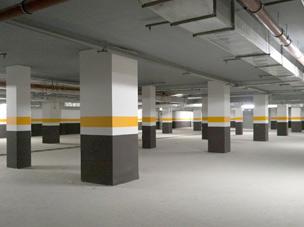БЦ Кронос, подземная паровка
