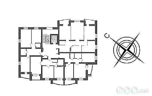 Федора Ивачева, 4, общий план этажа