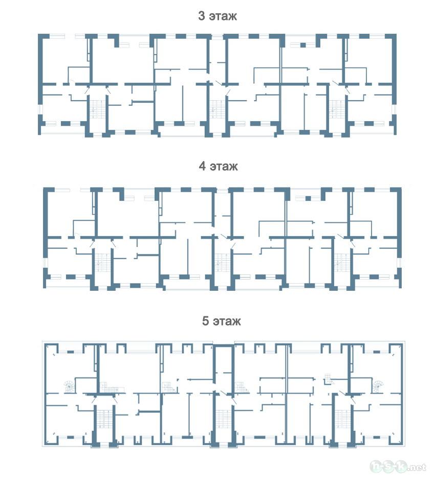 Согласия, 18, общий план этажа