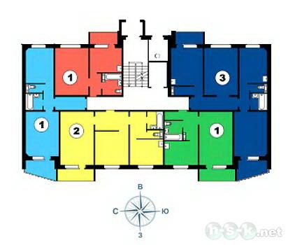 Ключ-Камышенское Плато, 22 (24/1), 24, общий план этажа