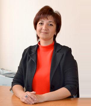 Галина Перевезенцева, начальником отдела ведения архива Кадастровой палаты